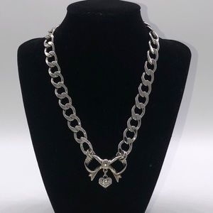 Juicy Couture Chain Choker Necklace